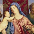 Madonna of the Cherries Titian Poster 20X30 Art Print