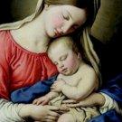 Madonna and Child Sassoferrato Poster 20X30 Art Print