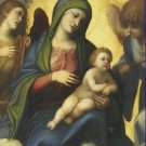 Madonna and Child in Glory Correggio Poster 20X30 Art Print