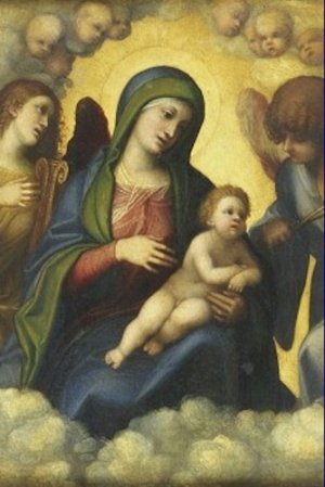 Madonna and Child in Glory Correggio Poster 20X30 Art Print