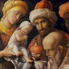 The Adoration of the Magi Andrea Mantegna Poster 20X30 Art Print