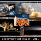 Space Shuttle Endeavour STS-134 Tribute Poster 20X30 Art Print