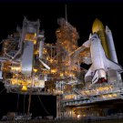 Space Shuttle Atlantis STS-135 Prelaunch Loading MPLM Poster 20X30 Art Print