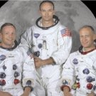 Apollo 11 Astronauts 12X18 Armstrong Aldrin Collins 1st Moon Landing