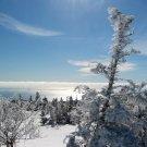Acadia National Park Winter Atop Cadillac 12x16 Canvas