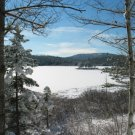 Acadia National Park Winter 12x16 Canvas