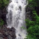 Acadia National Park Summer Waterfall 12x16 Canvas