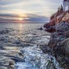 Acadia National Park Bass Harbor Head 12x16 Canvas