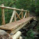 Acadia National Park Wooden Bridge 12x16 Canvas