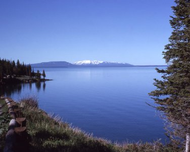 Yellowstone National Park Yellowstone Lake 8X10 Photograph