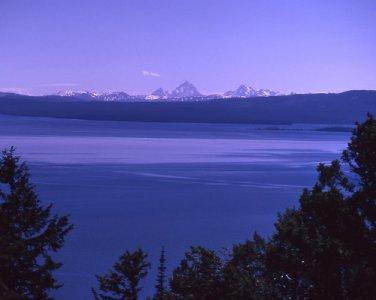 Yellowstone National Park Yellowstone Lake from Lake Butte 8X10 Photograph