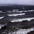 Yellowstone National Park Waves on Yellowstone Lake 8X10 Photograph