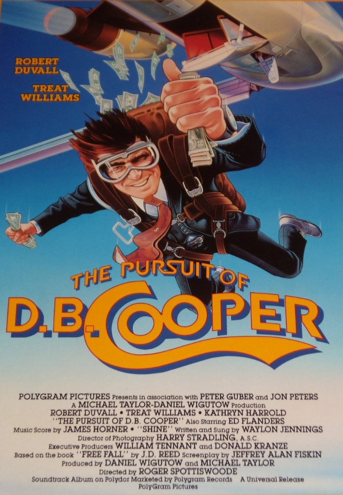 The Pursuit Of D B Cooper 1981 Dvd
