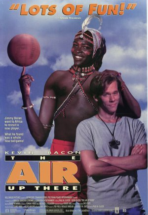 The Air Up There DVD Kevin Bacon 1994