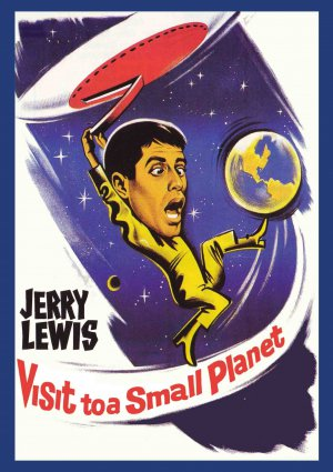 Visit to a Small Planet DVD Jerry Lewis 1960