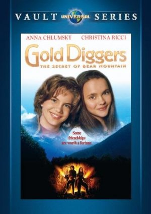 Gold Diggers The Secret of Bear Mountain DVD 1995 Christina Ricci