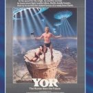 Yor the Hunter From the Future - DVD - 1983 - Reb Brown