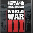 World War III DVD 1982 TV Mini Series David Soul Brian Keith Rock Hudson (MOD)