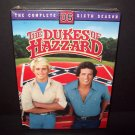 The Dukes of Hazzard Complete Sixth Season - DVD - Brand New and Sealed! OOP