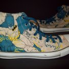 DC Comics Batman Converse All Star Sneakers / Tennis Shoes / Mens Size 12