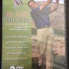 The Plane Truth for Golfers 3 DVD set + Bonus DVD: Tips and Drills - Jim Hardy