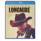 Longmire: The Complete Third Season - Bluray - Robert Taylor, Katee Sackhoff