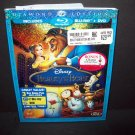 Beauty and the Beast - Blu-ray/DVD  3-Disc Set, Diamond Edition W/Slipcover MINT