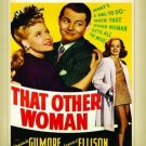 That Other Woman DVD 1942 Virginia Gilmore, James Ellison, Dan Duryea