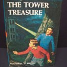 The Hardy Boys - The Tower Treasure - Vintage Hardback - White scenic endpapers