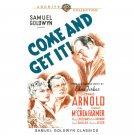 Come and Get It! - DVD - 1936 Edward Arnold, Joel Mccrea, Frances Farmer