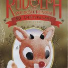 Rudolph The Red Nosed Reindeer DVD 50th Anniversary w/ Collectible Storybook