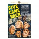 Five Came Back - DVD - 1939 - Chester Morris, Lucille Ball, Wendy Barrie