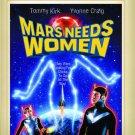 Mars Needs Women DVD 1967 Tommy Kirk, Yvonne Craig, Warren Hammack
