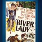 River Lady - DVD - Yvonne De Carlo - Dan Duryea - Rod Cameron