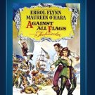 Against All Flags - DVD - Errol Flynn - Maureen O'Hara - Anthony Quinn