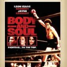 Body and Soul - DVD - 1981 - Leon Isaac Kennedy, Jayne Kennedy, Perry Lang
