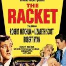 The Racket - DVD - 1951 - Robert Mitchum, Robert Ryan, Robert Conrad  (MOD)
