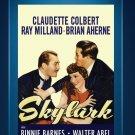 Skylark - DVD - 1941 - Claudette Colbert - Ray Milland - Brian Aherne