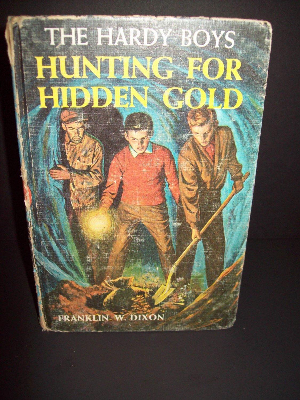 The Hardy Boys - Hunting For Hidden Gold - 1963 - Vintage Hardback - No ISBN