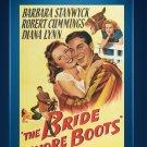 The Bride Wore Boots - DVD 1946 Barbara Stanwyck, Robert Cummings, Natalie Wood