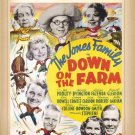 The Jones Family in Down On the Farm DVD 1938 Jed Prouty Spring Byington