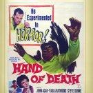 Hand of Death - DVD - 1962 - John Agar  Paula Raymond  Stephen Dunne