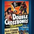 Double Crossbones - DVD - 1956 -Donald O'Connor - Helena Carter - Will Geer