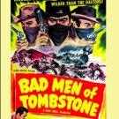 Bad Men of Tombstone - DVD - 1949 - Barry Sullivan - Marjorie Reynolds
