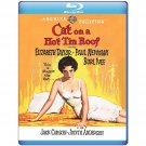 Cat On A Hot Tin Roof - Bluray - 1958 Elizabeth Taylor, Paul Newman, Burl Ives