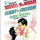 Flight For Freedom - DVD - 1943 Rosalind Russell Fred Macmurray Herbert Marshall