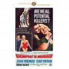 Signpost To Murder - DVD - 1965  Joanne Woodward, Stuart Whitman, Edward Mulhare