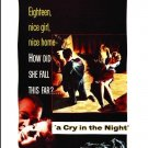 A Cry In The Night - DVD  1956 Edmond O'Brien, Brian Donlevy, Natalie Wood (MOD)