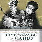 Five Graves to Cairo - DVD - 1943 - Franchot Tone - Anne Baxter - Akim Tamiroff
