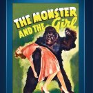 The Monster and the Girl - DVD - 1941 - Ellen Drew  Robert Paige  Onslow Stevens